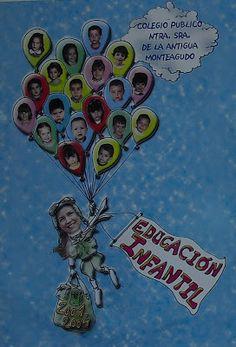 Promoción 2012-2015 EXCAVACIÓN PALEONTOLÓGICA      Promoción 2011-2014 JARDÍN JAPONÉS      Promoción 2010-2013  DESEMBARCO PIRATA     Prom... Mom Day, Teachers' Day, Mothers Day Crafts For Kids, Gifts For Kids, Decoration Creche, Preschool Classroom Decor, School Newspaper, Princess Crafts, Birthday Wall