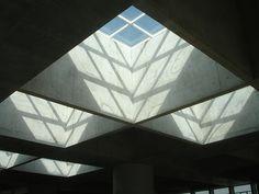 Edificio Caja Granada - Campo Baeza - Lucernarios