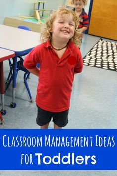 Classroom Management Ideas for Toddlers