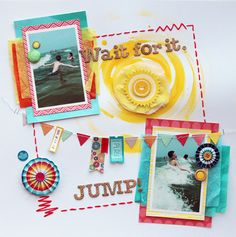 Wait For It - by Cindy Tobey using Shoreline from American Crafts.