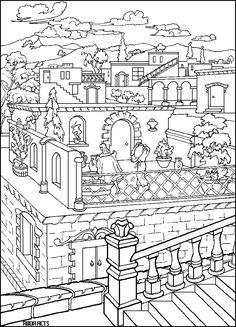 Ausmalbild Malvorlage Haus   ausmalbilder   Pinterest   Haus