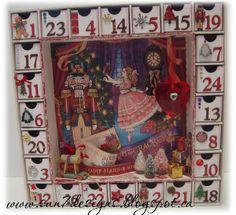 Nutcracker Sweet Advent Calendar by sun7designs @2peasinabucket