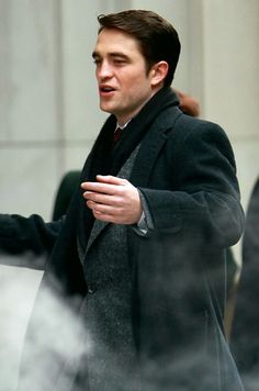 Robert Pattinson on Life set, 3/15/14