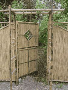 Prelude Full Bamboo Fence Panel