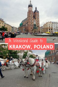 A weekend guide to Krakow, Poland. A cheap European city with lots to do, food to eat and day trips, including Auschwitz