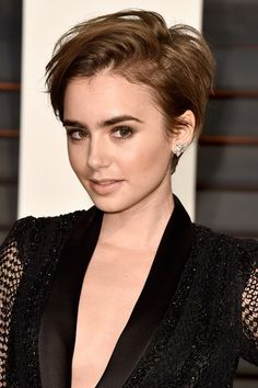 To see the latest celebrities with super short hairstyles & pixie cuts like Michelle Williams, Emma Watson and Halle Berry visit Glamour.com today