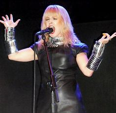 Toyah Willcox The Haunt Brighton 7.11.2014 Photo by Tomye Durking Paintshopping by me