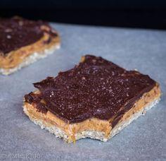 Healthy raw salted caramel slice | Miss K // Healthy Desserts | Bloglovin'