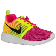 new product 7c4d0 ac598 Nike Roshe Run Flight Weight - Girls  Grade School