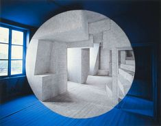 Anamorphic Optical Illusions by Georges Rousse Color Optical Illusions, Artistic Installation, Illusion Art, French Photographers, French Artists, Op Art, Sculpture Art, Sculptures, Contemporary Art