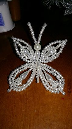 Grenald Grenald in 2020 Beaded Angels, Beaded Cross, Bead Crafts, Jewelry Crafts, Handmade Jewelry, Seed Bead Flowers, Beaded Flowers, Seed Beads, Beaded Jewelry Patterns