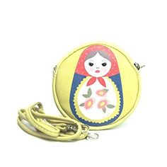 Matryoshka Doll Round Leatherette Coin Purse Review