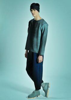 #Menswear #Trends Sandro Gaeta Fall Winter 2015 Otoño Invierno #Tendencias #Moda Hombre    F.Y!