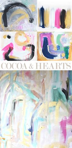 cocoa+and+hearts_painting_art.jpg 490×1.000 Pixel