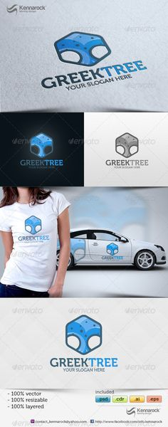 Greektree Logo  #GraphicRiver        Greektree Logo Template Overview A great…