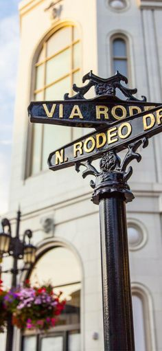 Shop like a celeb (or just window shop) on Rodeo Drive in Beverly Hills, California BUCKET LIST!