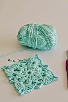 Crochet Square Pattern                                                       …