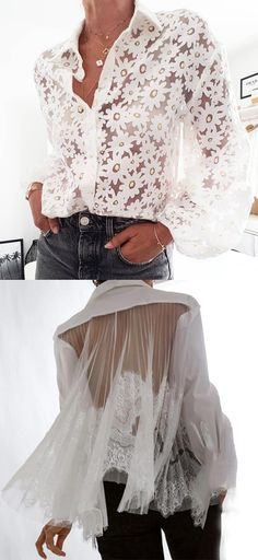 Women Elegant Style Blouse Tops 60 Fashion, Fashion Fail, Fashion Over 50, Fashion Tips For Women, Lolita Fashion, Fashion Outfits, Womens Fashion, Winter Fashion, Classy Outfits