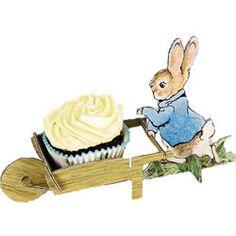 Cupcake Stands & Holders - Beatrix Potter Peter Rabbit Cupcake Holder Set