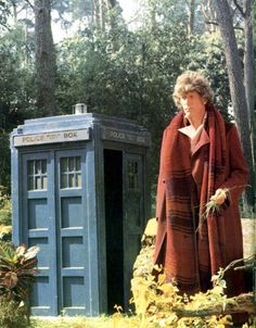 Fourth Doctor and TARDIS
