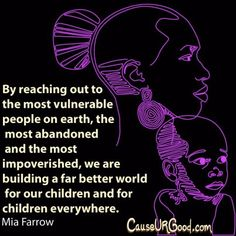 #Children, the most vulnerable #people on earth.  www.causeurgood.com  #poverty #feed #miafarrow
