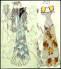 Ossie Clark with Celia Birtwell Print - Gorgeous
