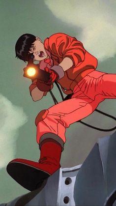 Manga Anime, Old Anime, Anime Art, Aesthetic Art, Aesthetic Anime, Akira Characters, Akira Kaneda, Akira Anime, Japon Illustration