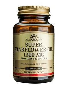 Solgar Super Starflower Oil 1300mg X 30 FORMERLY SUPER GLA 300MG X 30 http://www.MightGet.com/january-2017-11/solgar-super-starflower-oil-1300mg-x-30.asp