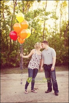 Balloon engagements photo