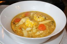 A Delectable Trinidad Corn Soup Recipe.