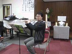6)トクミ楽器様とコラボ!福楽金メッキフルート紹介ビデオ『座ってヘンデル』篇