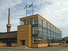 Fábrica de zapatos Fagus (Alemania), del arquitecto Walter Gropius