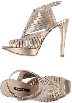 Silver Platform Sandals