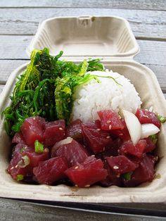 Ahi tuna poke at Da Poke Shack in Kailua-Kona, Hawaii (Big Island)... | Flickr - Photo Sharing!