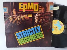 [b]SOLD[/b] EPMD strictly business, SBUKLP 1 - Hip Hop, Electro, funk, Drum and Bass ETC