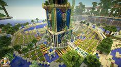 Babylon Hanging Garden Minecraft Project