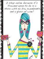 dolly mamas, joey heiberg, funny art,shopping, wine