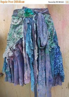 Hey, I found this really awesome Etsy listing at https://www.etsy.com/listing/495565151/20off-bohemian-skirttattered-skirt-gypsy