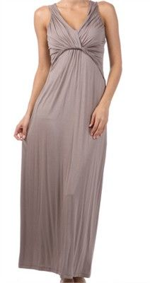 Mila Rouched Maternity Dress from Trendy Tummy Maternity