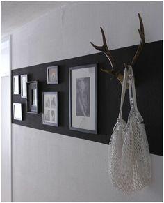Wanddecoratie - Geschilderd vlak op de muur