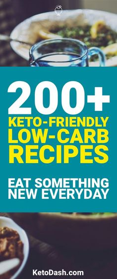 Being on the ketogenic does not mean you should lack variety in your foods. Here are 200+ Keto recipes that we make that keep food exciting.