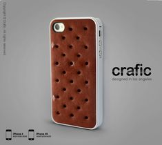 Ice Cream Sandwich iPhone Case - iPhone 4 case iPhone 4s case. $19.99, via Etsy.