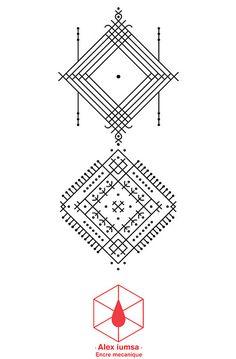 Best Geometric Tattoos And Symbolism Ethnic Patterns, Henna Patterns, Line Tattoos, Body Art Tattoos, Tatoos, Croatian Tattoo, Tattoo Sites, Finger Tattoo For Women, Ornamental Tattoo