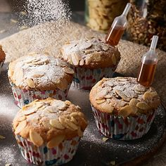 Stollen Cupcakes - from Lakeland