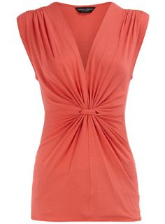 coral bunch top