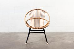 We had one of these comfy bamboo chairs when I was a kid