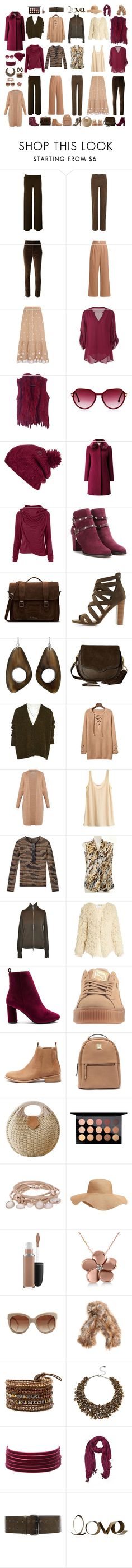 """Chocolate Raspberry"" by pheonix-dt ❤ liked on Polyvore featuring Vanessa Bruno, Isabel Marant, TIBI, Miguelina, Steven Alan, Volcom, Jacques Vert, Valentino, Dr. Martens and Charlotte Russe"