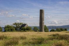 The ancient monastery of Iniscealtra, hidden on an island in the middle of Lough Derg, Ireland.
