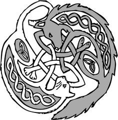 celtic cat&dog knot - Google Search