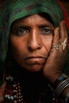 Portrait Of A Gypsy Woman